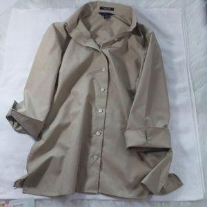 Tan Button Down Shirt